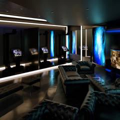 VR Gaming Center:  بيت زجاجي تنفيذ Karim Elhalawany Studio