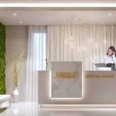 Dental Clinic:  بيت زجاجي تنفيذ Karim Elhalawany Studio