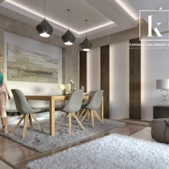 Sheraton Helioplis Appartment:  غرفة السفرة تنفيذ Karim Elhalawany Studio
