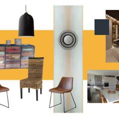 salle-à-manger: Salle à manger de style de style Colonial par MarieHélèneD&Co
