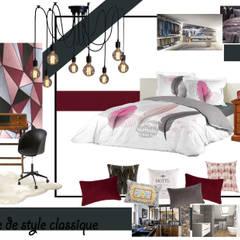 Planche de style: Chambre de style  par MarieHélèneD&Co