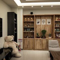 Fun風民宿室內設計設計施工完成照片 :  商業空間 by 頂尖室內設計工程行, 簡約風