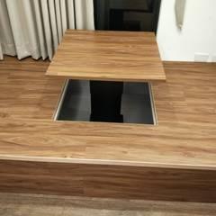 昇降地台:  商業空間 by 頂尖室內設計工程行