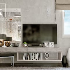 Sheraton Helioplis Appartment:  غرفة نوم تنفيذ Karim Elhalawany Studio