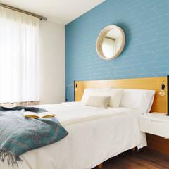Color favorito: el azul: Dormitorios de estilo  de Noelia Villalba