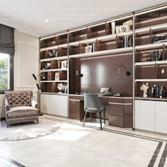 classic Study/office by ICON INTERIOR