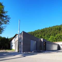 Anbau - und Umbau Verwaltung:  Bürogebäude von TEPASS Architektur GbR
