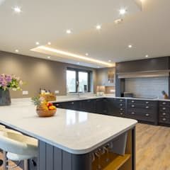 Handmade Kitchen:  Built-in kitchens by Webbs of Kendal