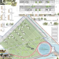 Estadios de estilo  por BLAD Mimarlık Peyzaj Mimarlığı Mühendislik Kentsel Tasarım İnşaat Taahhüt Sanayi ve Ticaret Limited Şirketi