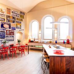 Kitchen & Dining Area:  Kitchen by dwell design