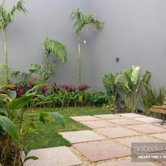 Paisagismo Residencial: Jardins  por Gabriela Araujo Arquitetura e Paisagismo