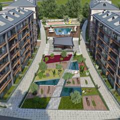 EKSIMIMARLIK – New Nişantepe Konut Projesi:  tarz Apartman