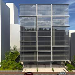 EKSIMIMARLIK – Mecidiyeköy Ofis Projesi:  tarz Ofisler ve Mağazalar