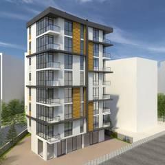 EKSIMIMARLIK – Göztepe Konut Projesi:  tarz Apartman