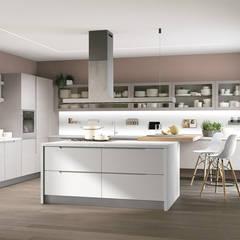 Muebles de cocinas de estilo  por Area design interiores - cozinhas em Braga