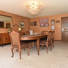Casa en Lomas de Virreyes: Comedores de estilo  por NettelHaus, Clásico