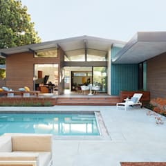 Los Altos New Residence By Klopf Architecture: modern Houses by Klopf Architecture