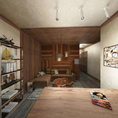 Кабинет.: Рабочие кабинеты в . Автор – Мария Остроумова