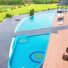 พื้นรอบสระว่ายน้ำ:  พื้น by AN EMPIRE
