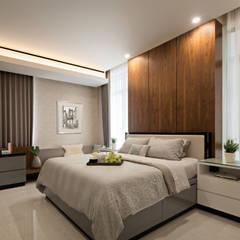 Master Bedroom:  Kamar Mandi by INERRE Interior