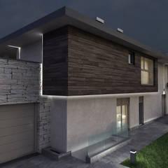 Progetto Villa a Rovetta: Case in stile  di studiosagitair