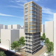 EKSIMIMARLIK – Suadiye Konut Projesi:  tarz Apartman