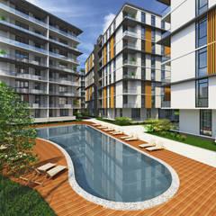 EKSIMIMARLIK – Edremit Konut Projesi:  tarz Apartman