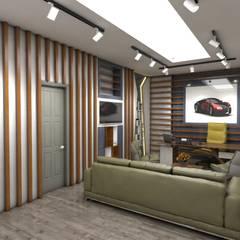 kübra meltem doğan – araba galerisi ofisi: modern tarz Çalışma Odası