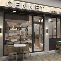 Etit Mimarlık Tasarım & Uygulama – Cennet Pastanesi:  tarz Yeme & İçme