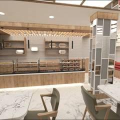 Etit Mimarlık Tasarım & Uygulama – Cennet Pastanesi:  tarz Dükkânlar