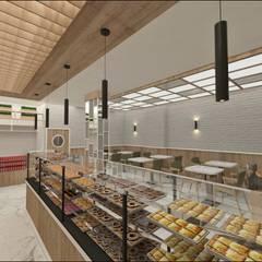 Oficinas y Tiendas de estilo  por Etit Mimarlık Tasarım & Uygulama