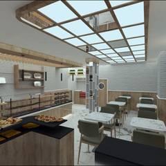 Centros comerciales de estilo  de Etit Mimarlık Tasarım & Uygulama