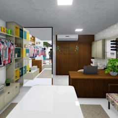 Winkelruimten door Studio 3D+