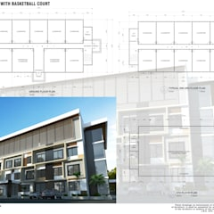 :  Floors by E.V.Casbadillo Arquitectura,Modern Reinforced concrete