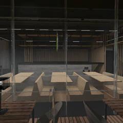 Projekty,  Gastronomia zaprojektowane przez Designo Arquitectos