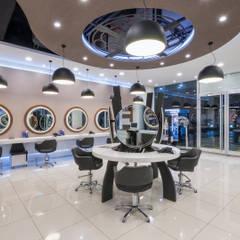 Salones de eventos de estilo  por İdea Mimarlık