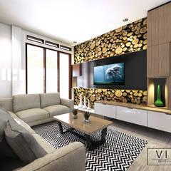 Living room : Ruang Keluarga oleh viku,