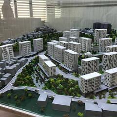 BK MİMARİ TASARIM – CEDİT KENTSEL DÖNÜŞÜM PROJESİ:  tarz Apartman