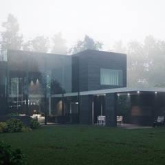 บ้านและที่อยู่อาศัย by Архитектурная студия Чадо