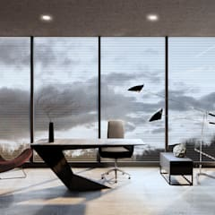 Study/office by Архитектурная студия Чадо