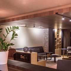 Slash Architects – Moda Evi:  tarz Oturma Odası