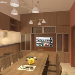 مطبخ ذو قطع مدمجة تنفيذ Arquitecto Manuel Daniel Vilte