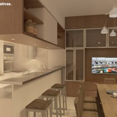 Built-in kitchens by Arquitecto Manuel Daniel Vilte