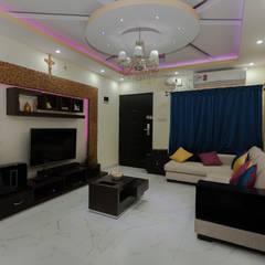 modern Living room by Kriyartive Interior Design