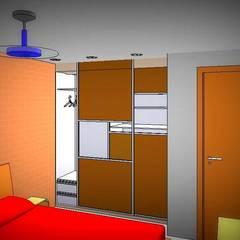 Dormitorio: Dormitorios de estilo  por Arq.SusanaCruz
