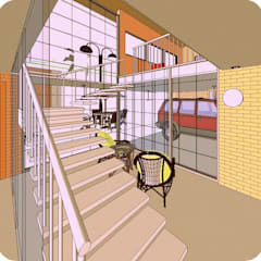 Escaleras de estilo  por Arq.SusanaCruz