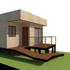 Single family home by Loberia Arquitectura,