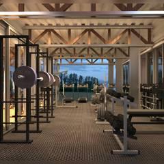 Ruang Fitness by ESQUEMA Donde Surgen las Ideas
