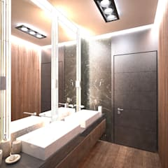 Doku Mimarlık – Bornova Apartman: klasik tarz tarz Banyo