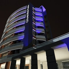 Doku Mimarlık – Bornova Ofis Bloğu:  tarz Ofis Alanları